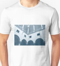 Italian classical architecture with columns and arches Unisex T-Shirt