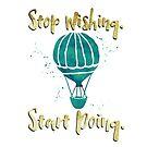 Inspire - Stop Wishing. Start Doing. by Shai Coggins