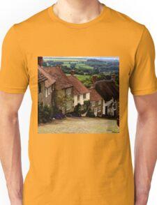 Gold Hill - Dorset Unisex T-Shirt