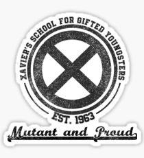 Xavier's School Logo Sticker