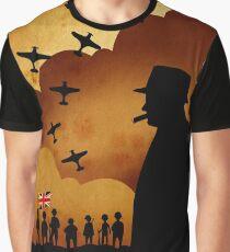 Winston Churchill  Graphic T-Shirt