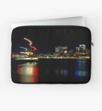Halifax Harbour and Ferry at Night Laptop Sleeve