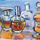 Perfume bottles by christine purtle