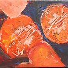 Mandarin closeup by christine purtle