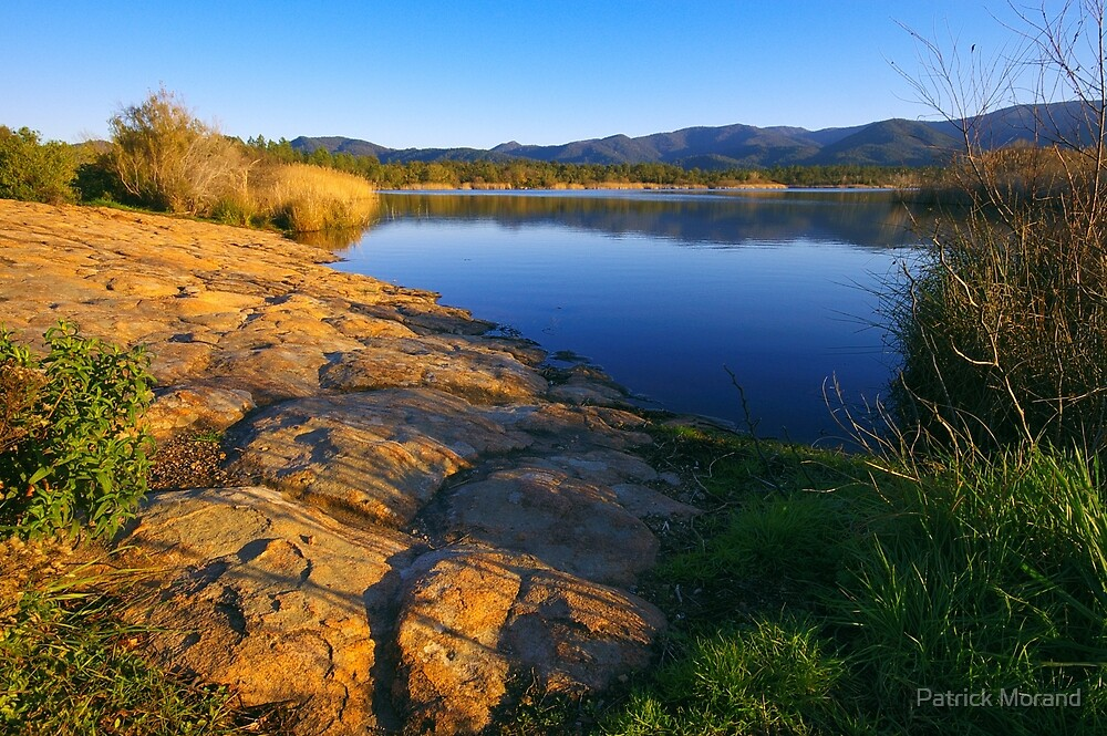 Provence lake by Patrick Morand