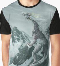 Winter Dragon Graphic T-Shirt