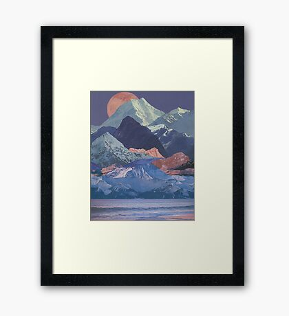 Rainbow Ranges Framed Print