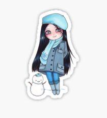 Kekita invierno Sticker