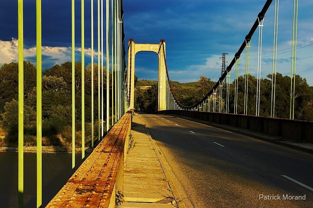 Bridge over Durance river by Patrick Morand