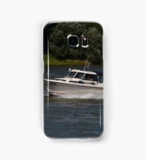 Small Cabin Cruiser Samsung Galaxy Case/Skin