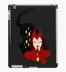 Hush -  Lady Loki as Scarlet Witch iPad Case/Skin