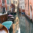 Reflections - Venice, Italy by Marilyn Harris