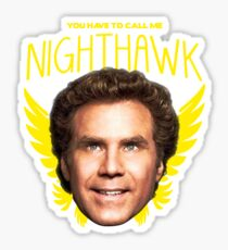 Step Brothers Nighthawk Sticker