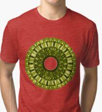 Cactus Mandala Tri-blend T-Shirt