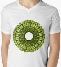 Cactus Mandala Men's V-Neck T-Shirt