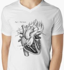 The Heart Men's V-Neck T-Shirt