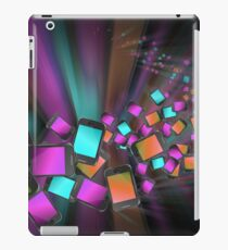 Telecommunications abstract. iPad Case/Skin