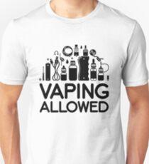 VAPING ALLOWED T-Shirt