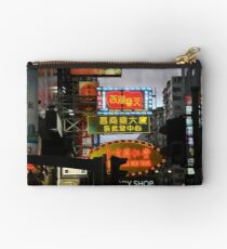 Nathan Road at Night Studio Pouch