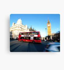 London Smart Canvas Print