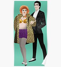 The Cramps, Lux and Ivy Poster