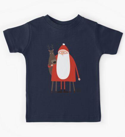 Weihnachtsmann mit Rentier Kids Clothes