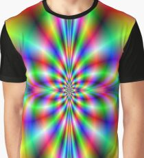 Cross in Neon Graphic T-Shirt