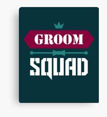 Groom Squad Canvas Print
