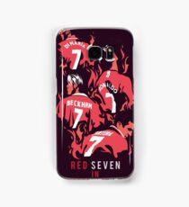 Red Seven In Manchester United Samsung Galaxy Case/Skin