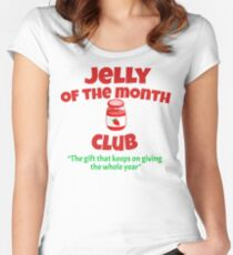 Christmas Vacation - Jelly Of The Month Club  Women's Fitted Scoop T-Shirt