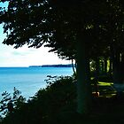 Looking East ~ Lake Ontario Contrasts by artwhiz47