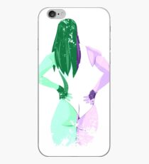 Minimalist She-Hulk iPhone Case