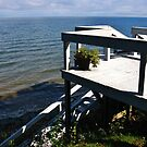 Stairway To The Shore ~ Lake Ontario by artwhiz47
