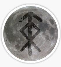 viking bindrune Protection (In the night)  Sticker