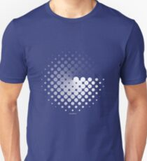 Dots can be in a disc Unisex T-Shirt