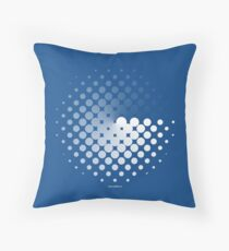 Dots can be in a disc Throw Pillow