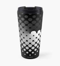 Dots can be in a disc Travel Mug