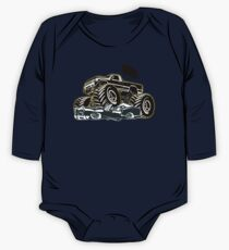 Cartoon Monster Truck One Piece - Long Sleeve