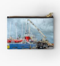 Coming Back in Nassau from a Regatta in Freeport - The Bahamas Studio Pouch