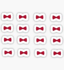 Red Bow Tie: sticker pack Sticker