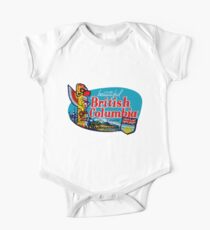 Beautiful British Columbia BC Vintage Travel Decal Kids Clothes