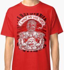 Say You Love Satan 80s Horror Podcast - Creepshow Basketcase VHS Classic T-Shirt