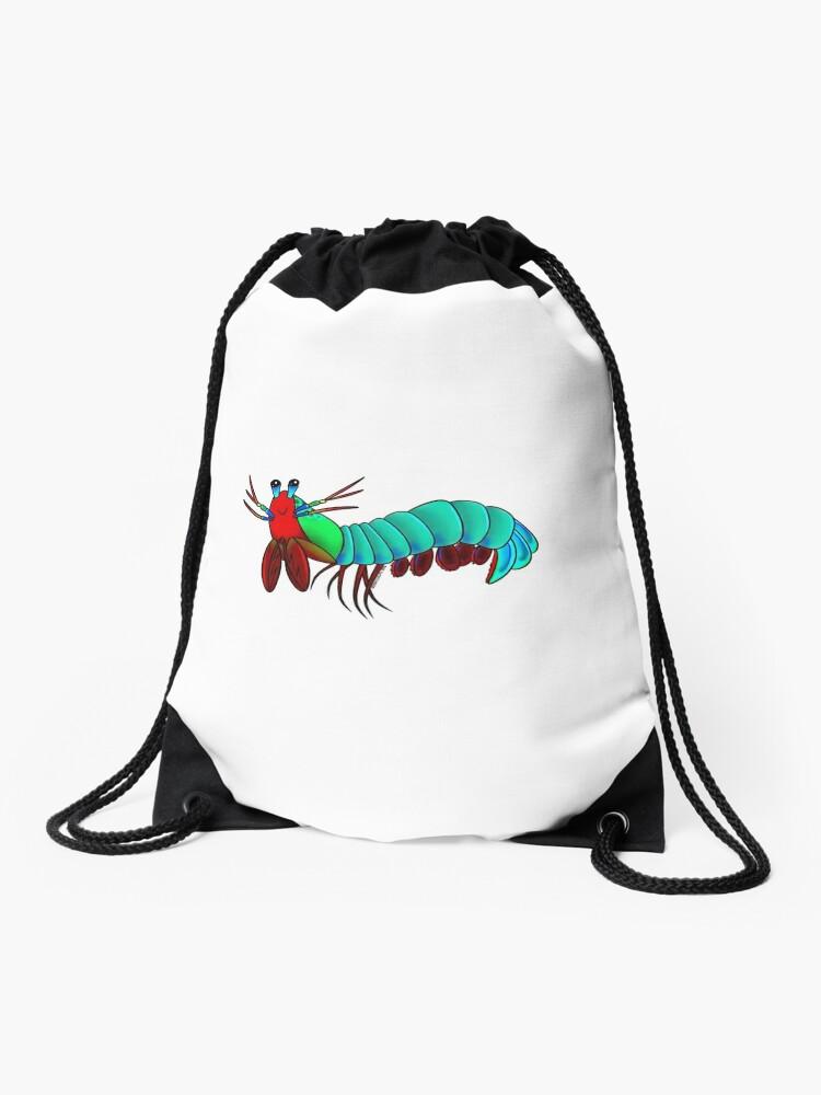 the Mantis Shrimp | Drawstring Bag