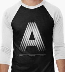 The letter A Men's Baseball ¾ T-Shirt