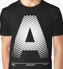 The letter A Graphic T-Shirt