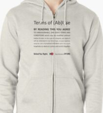 Terms of (Ab)Use Zipped Hoodie