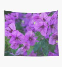 Bougainville in purple Wall Tapestry