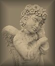 Little Angel Praying by Marie Sharp