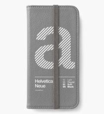 a .... Helvetica Neue iPhone Wallet/Case/Skin