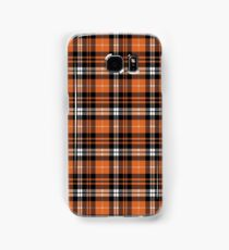 Pumpkin Plaid Samsung Galaxy Case/Skin
